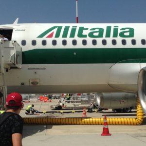 Compagnia di Stato, aereo Alitalia