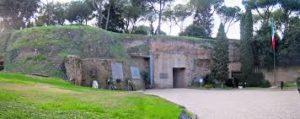 Priebke, Mausoleo delle Fosse Ardeatine