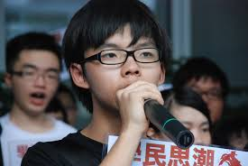 Scontri a Hong Kong, Joshua Wong