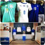 Un Secolo d'Azzurro a Viterbo, Le tente diverse magliette della Nazionale