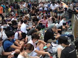 Guerra dei dazi, proteste a Hong Kong
