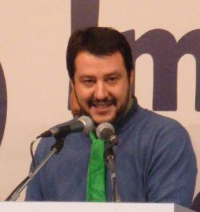 Elezioni in Umbria, Matteo Salvini