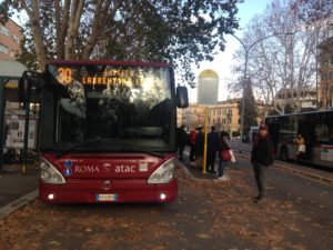 Sindaca, passeggeri al capolinea Atac di piazzale Clodio