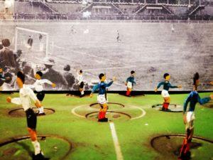 Museo del Collezionismo, Calcio Balilla degli anni Venti del secolo scorso