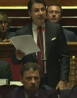 Economia sostenibile, Giuseppe Conte parla alla Camera