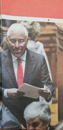 geringonça, Costa e Centeno in Parlamento
