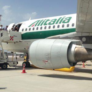 Caso Alitalia, aereo Alitalia