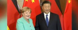 Virus cinese, Angela Merkel e Xi Jimping