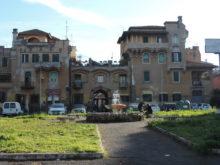 Quartiere Garbatella, Facciata del complesso di piazza Brin