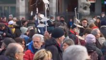 Elezioni Emilia Romagna, Manifestazione delle sardine a Bologna