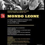 """Sergio Leone, La locandina di """"Mondo Leone"""""""