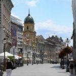 Fiume, una via di Fiume/Rijeka