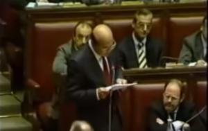 Finanziamento ai partiti, Bettino Craxi parla alla Camera