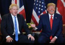 5G, Boris Johnson e Donald Trump