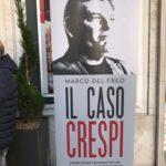 Il caso Crespi, La locandina della presentazione del libro Il caso Crespi