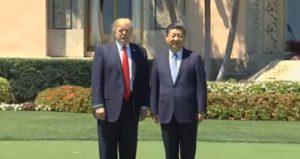 Epidemia, Donald Trump e Xi Jinping