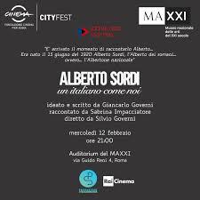 """Sordi, Locandina del Maxxi su """"Alberto Sordi ,un italiano come noi"""""""