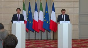 Occupazione, Giuseppe Conte e Emmanuel Macron