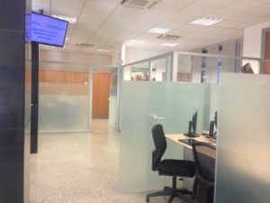 Uffici vuoti