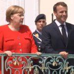Virus bond, Angela Merkel e Emmanuel Macron