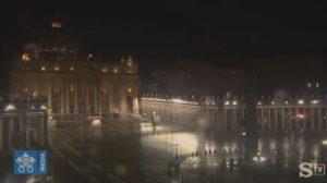 Europa, Piazza San Pietro deserta