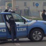 Sicurezza, posto di blocco della polizia a Lodi