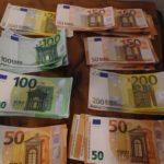 Guerra, Banconote di euro