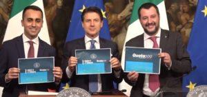 Riformismo, Di Maio, Conte e Salvini