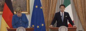 Cancelliera Merkel, Angela Merkel e Giuseppe Conte