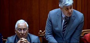 Mario Centeno, Antonio Costa e Mario Centeno