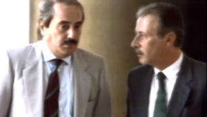 Luca Palamara, Giovanni Falcone e Paolo Borsellino