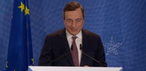 Debito comune europeo, Mario Draghi