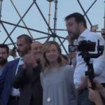 Opposizione responsabile, Berlusconi, Meloni e Salvini