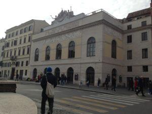 Cinema, Il Teatro Argentina a Roma
