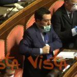 Open Arms, Matteo Salvini al Senato