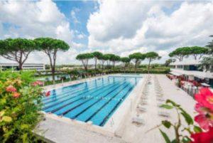 Salaria Sport Village, Una piscina del Salaria Sport Village