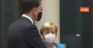 consiglio europeo, Mark Rutte e Angela Merkel