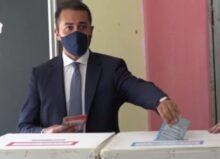 Elezioni regionali, Luigi Di Maio vota