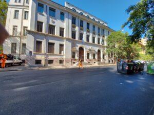 Classe politica, Scuola media Dante a Roma
