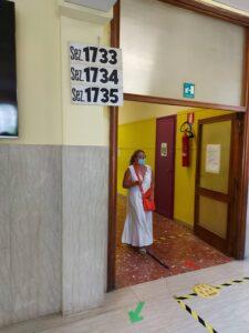 Referendum sul taglio dei parlamentari, Un seggio elettorale a Roma per il referendum sul taglio dei parlamentari