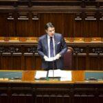 Unità nazionale, Giuseppe Conte parla alla Camera