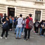 Investimenti, Studenti visitano la Camera dei deputati