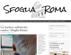 hacker, Sfoglia Roma di nuovo in rete