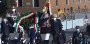 Castagnetti, Sergio Mattarella all'Altare della Patria