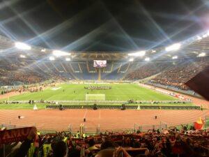 Serie A, Stadio Olimpico di sera