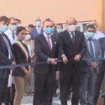 Forlanini, Virginia Raggi e Nicola Zingaretti con la mascherina