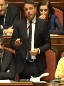 Conte dimezzato, Matteo Renzi