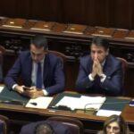 Crisi al buio, Luigi Di Maio e Giuseppe Conte