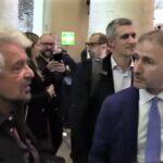 Draghi Dracula, Beppe Grillo e Davide Casaleggio
