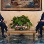 Incarico, Sergio Mattarella e Mario Draghi